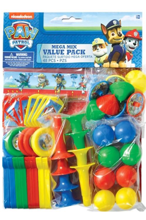 Paw Patrol party bag filler toys 48 mega pack