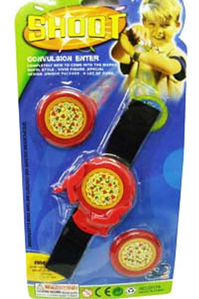 Flying Pizza Shooter wristband toy boy party favor
