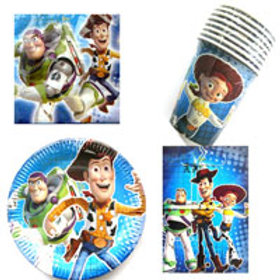 Toy Story 3 birthday party pack caters 8 guests