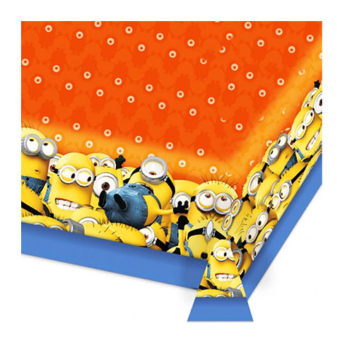 Minions party theme plastic disposable tablecover | 24-7 Party Paks