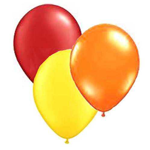 Bunch balloons | plain colour balloons | party balloons | Winnie the Pooh colour theme balloons |24-7 Party Packs