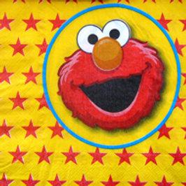Elmo party napkins pk 6