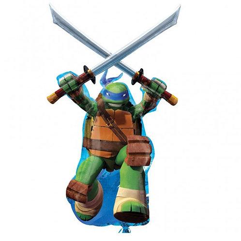 Teenage Mutant Ninja Turtle Leonardo Foil Balloon