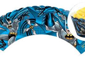 Batman cupcake wraps pk 12 - Batman Party