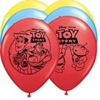 Toy Story 3 party balloons pk 10 uninflated latex