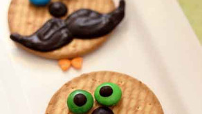 """How to decorate your own """"Movember - Moustache Bash"""" themed Cookies for kids"""