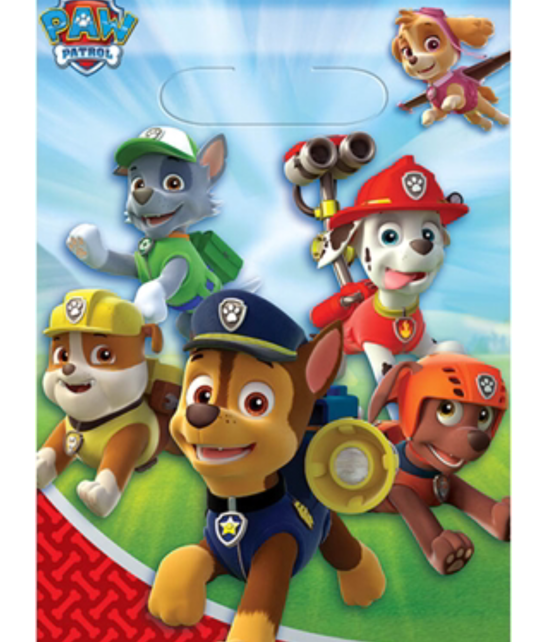 Paw Patrol party loot bags - Doggy bags