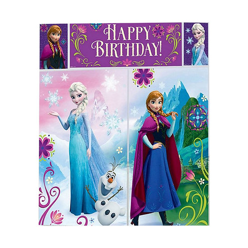 Disney Frozen Scene Setter giant birthday party wall decoration