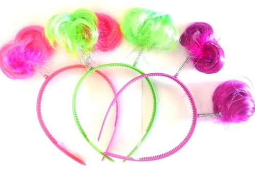 Headband Costume Accessory with pigtails