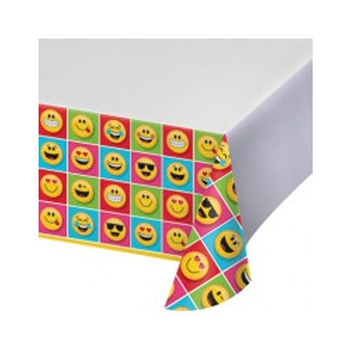 Emoji tablecover | Emojion Party | 24-7 Party Paks