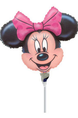Minnie Mouse party foil balloon | Minnie Mouse balloon centrepiece | girls birthday parties | foil balloons | 24-7 Party Paks