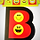 B is for Birthday Banner | Emoji birthday party decoration