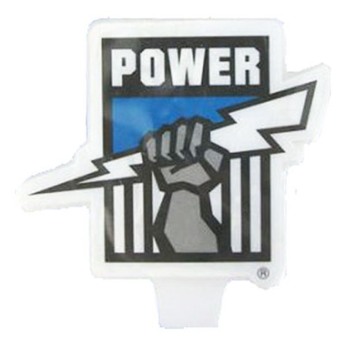 Port Adelaide power birthday candle |  Power footy candle | birthday candles adelaide