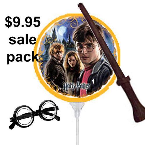 Harry Potter party sale pack | harry potter sale | harry potter balloon | 24-7 Party Paks