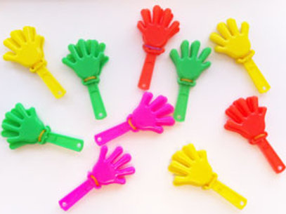 Hand Clapper party favor each