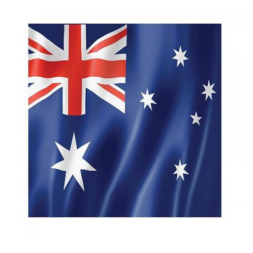 Australia Flag party napkins pack 16
