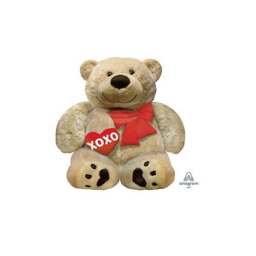 Valentines Day Cuddly Teddy Bear Hugs and Kisses Teddy bear 71 cm