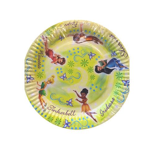 Disney Fairies Tinkerbell and the Great Fairy Rescue kids party plates pack 8