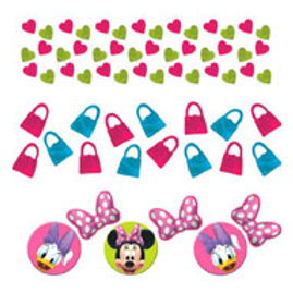Minnie Mouse confetti table decoration pack 34 gms