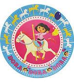 Dora the Explorer party supplies | Dora party plates