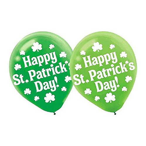 St Patrick's Day ballloons | green party balloons | 24-7 Party Paks Australia
