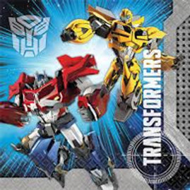Transformers party napkins |boys birthday party | kids party napkins