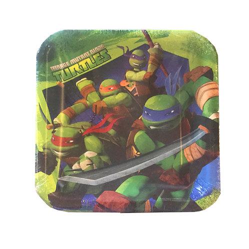 Teenage Mutant Ninja Turtle party plate pk 8