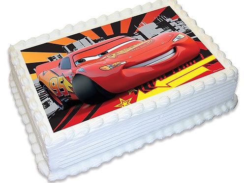 Disney Cars A4 edible image cake topper 28 cm