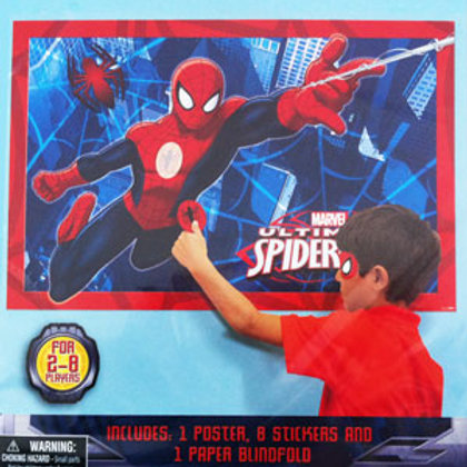Spiderman party game for kids birthday 8 players