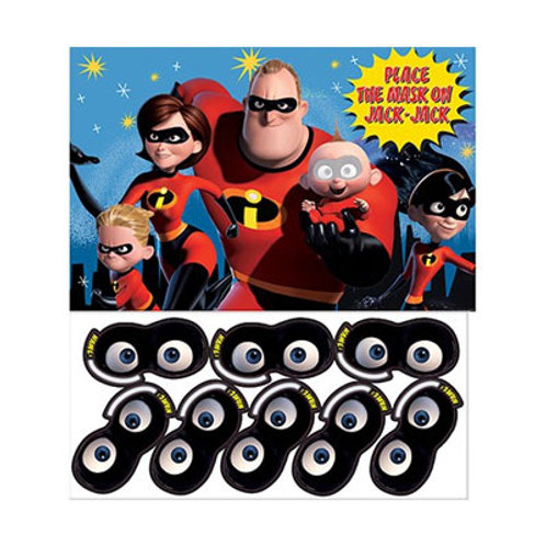 Incredibles 2 party game | Incredibles party theme | kids party games | 24-7 Party Paks