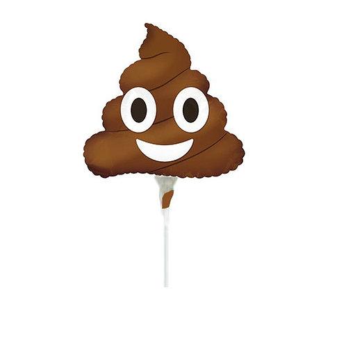 poop balloon   emoji poop balloon   emoji shape balloons   24-7 Party Paks