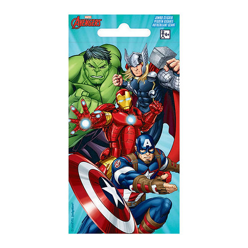 Avengers sticker sheet party favor pack 4