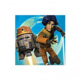 Star Wars Rebels party napkins pack 16 lunch
