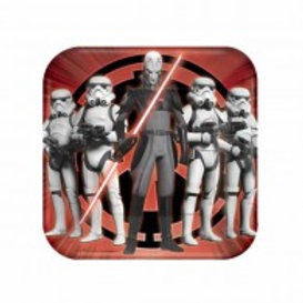 Star Wars Rebels party plates pack 8