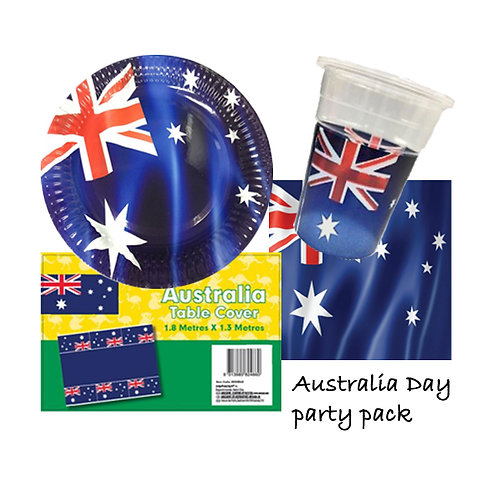 Australia Day party pack