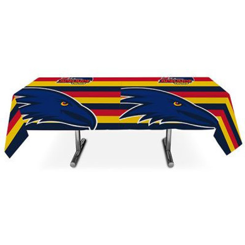 Adelaide Crows football plastic disposable party tablecover