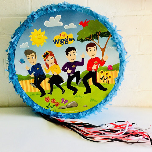 Wiggles Pinata - pullstring drum pinata - kids party game