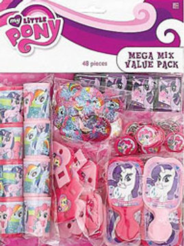 My Little Pony Friendship Magic party favor toys
