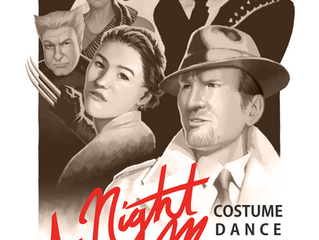 Press Release: A Night At The Movies Costume Dance!!!