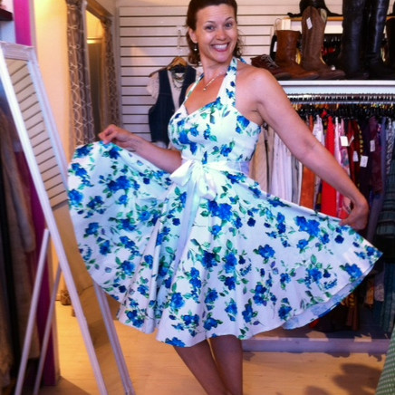 A New Kitschy Dress for Summer