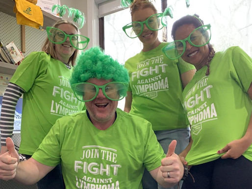 We've joined the fight against LYMPHOMA
