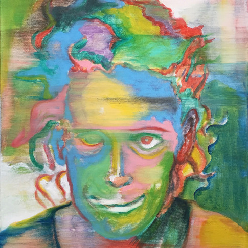 Portrait of Mugshot Series