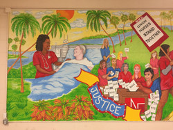 Mural for NNU Panel 1, 2018