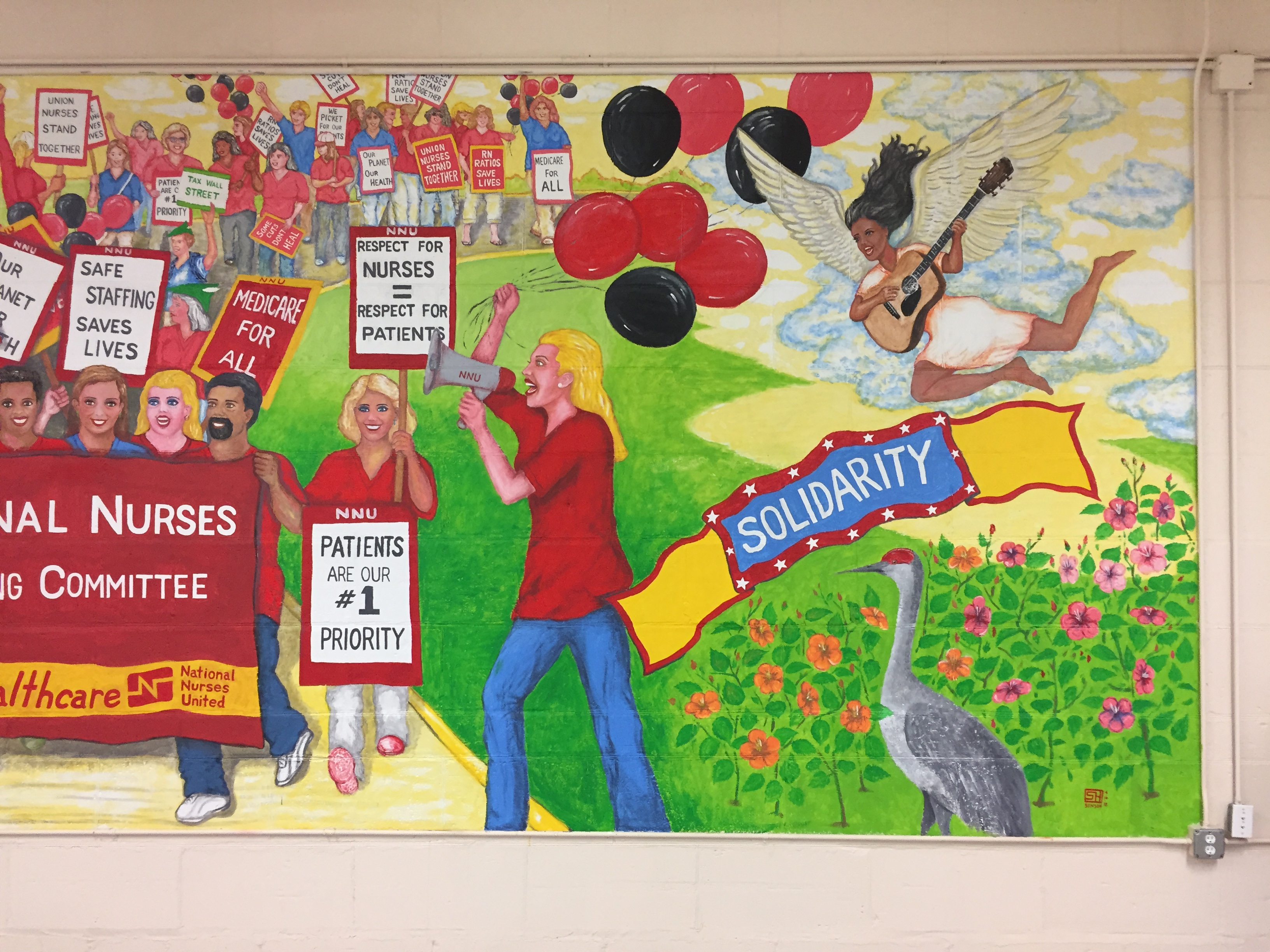 Mural for NNU Panel 3, 2018