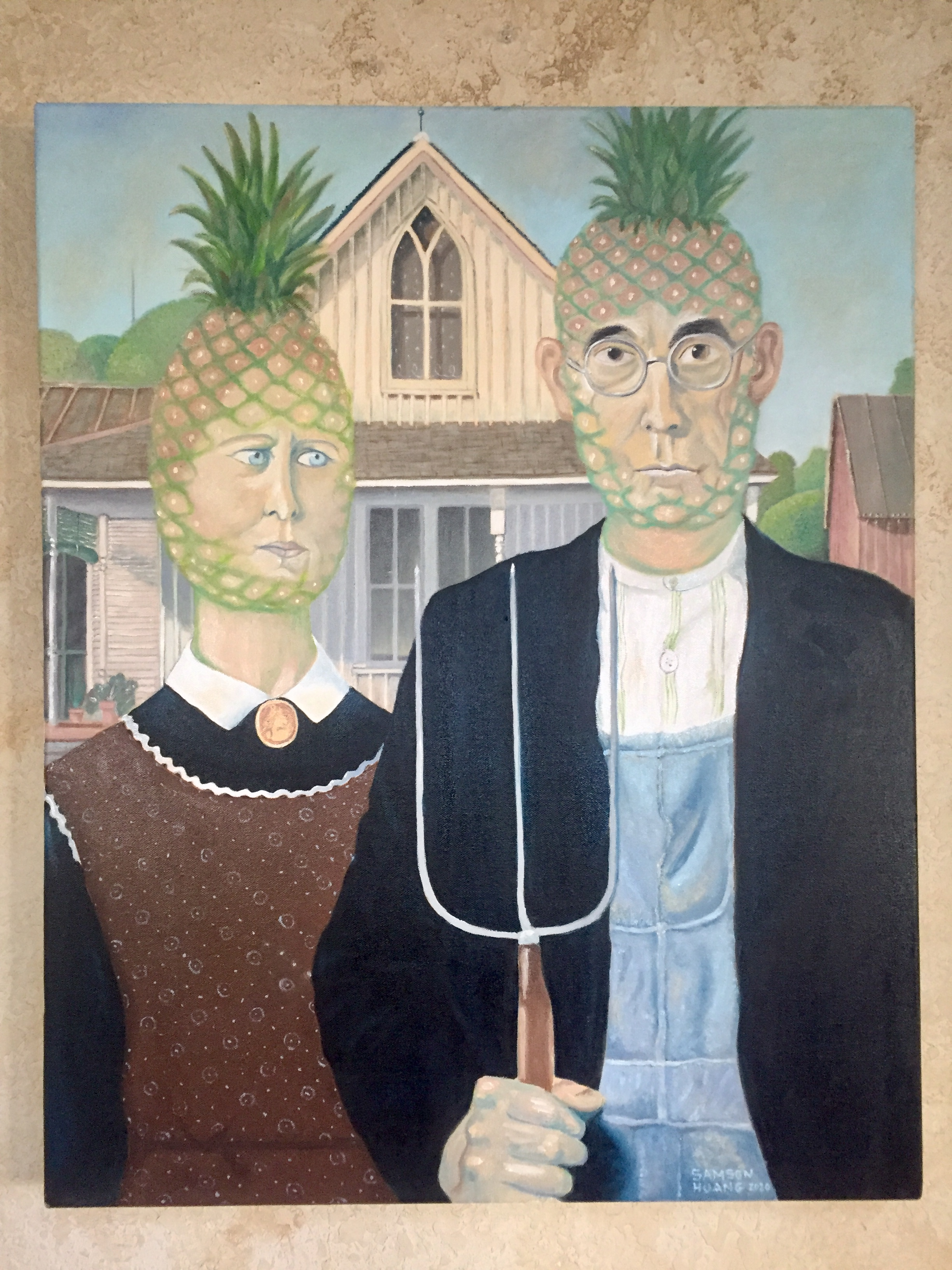 American Pineapple Gothic