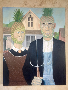 American Pineapple Gothic (Commission)