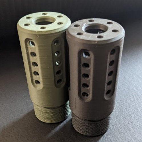 Vented Muzzle Shroud (with Tracer Cavity)
