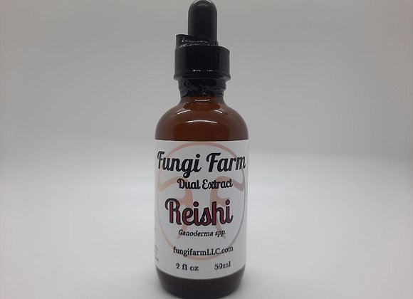 Reishi Mushroom Dual Extract Tincture