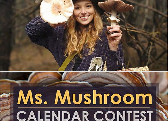2022 Ms. Mushroom Calendar Pre-Order