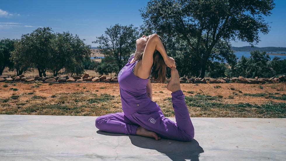 Yoga Pose, Kapotasana
